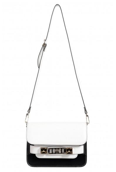 Proenza Schouler Women's Multi-Color Textured Leather Clutch Shoulder Bag
