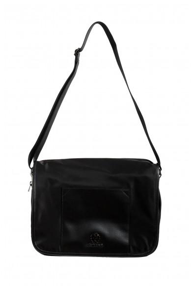 Roberto Cavalli Men's Black Shoulder Messenger Bag