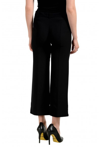 Versace Women's Black 100% Silk Pants: Picture 2