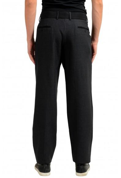 Dolce & Gabbana Men's Wool Silk Dress Striped Pants : Picture 2