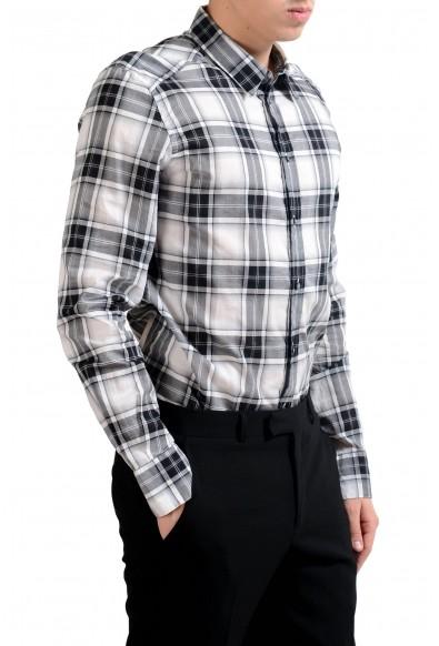 "Dolce & Gabbana ""Gold"" Men's Plaid Long Sleeve Dress Shirt: Picture 2"