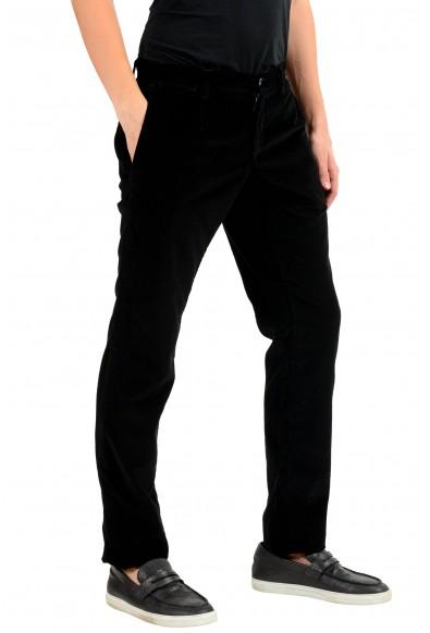 Dolce & Gabbana Men's Black Corduroy Casual Pants: Picture 2
