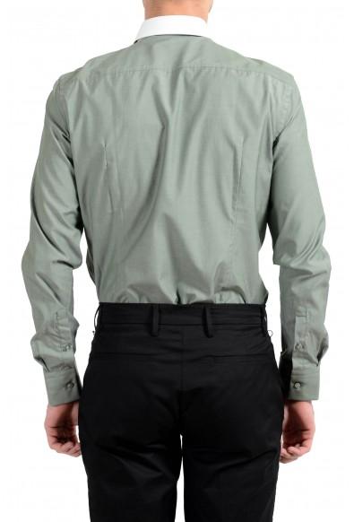"Hugo Boss ""Jerrell"" Men's Slim Green Long Sleeve Dress Shirt: Picture 2"