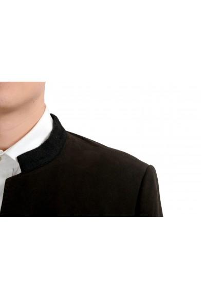 Dolce & Gabbana Men's Brown Two Button Blazer Sport Coat: Picture 2