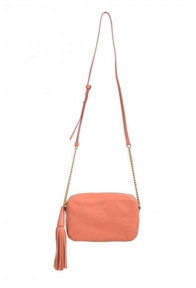 "Jimmy Choo Women's Powder Pink Leather ""Athini"" Camera Shoulder Crossbody Bag"