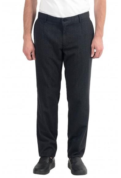 Dolce & Gabbana Men's Gray Wool Dress Pants