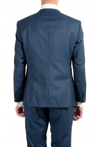 "Hugo Boss ""Huge6/Genius4"" Men's 100% Wool Blue Two Button Suit: Picture 2"