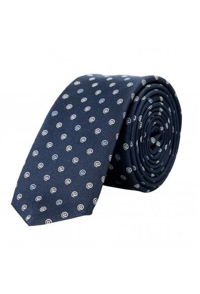 Hugo Boss Men's Blue @ Print 100% Silk Tie