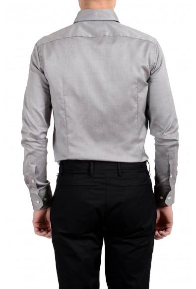 """Hugo Boss """"T-Swen"""" Men's Slim Gray Long Sleeve Dress Shirt: Picture 2"""