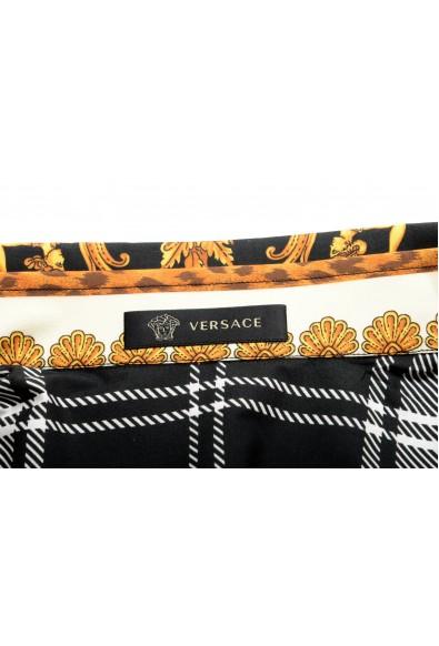 Versace Men's Multi-Color Barocco Print Long Sleeve Dress Shirt: Picture 2