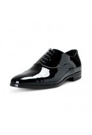 "Hugo Boss Men's ""Portland_Oxfr_pactns"" Black Patent Leather Oxfords Shoes"