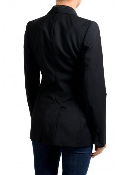 Maison Margiela 100% Wool Black Two Button Women's Blazer: Picture 2