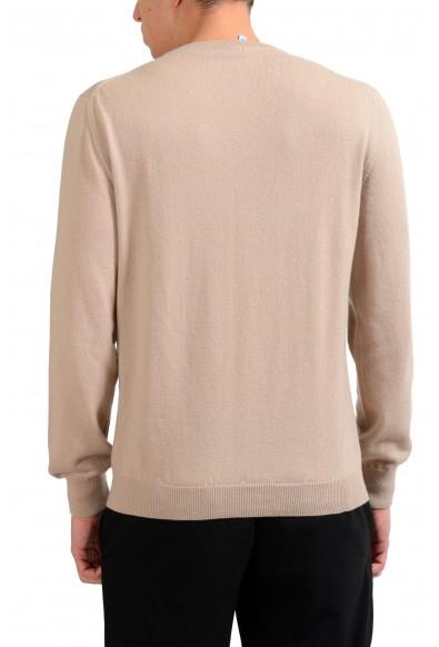 Malo Men's 100% Cashmere Beige Pullover Sweater : Picture 2