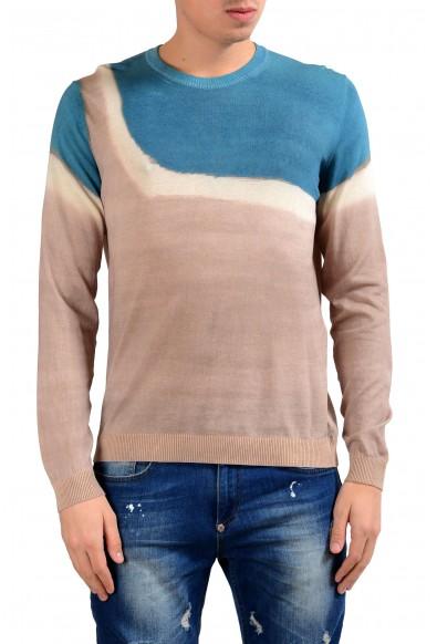 Malo Men's Crewneck Multi-Color Light Pullover Sweater