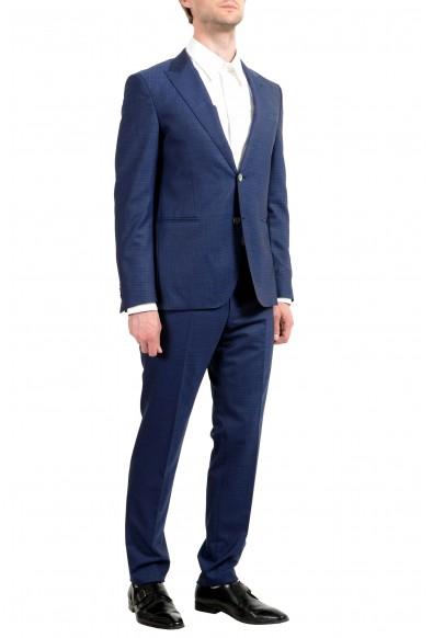 "Hugo Boss ""Novid/Bristow"" Men's 100% Wool Blue Slim Two Button Suit: Picture 2"