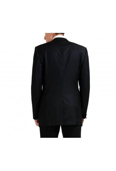 Versace 100% Wool Black One Button Men's Blazer: Picture 2