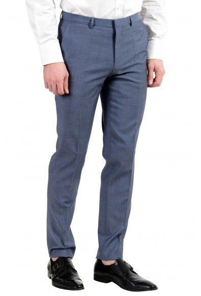 """Hugo Boss """"Astian/Hets"""" Men's 100% Wool Blue Two Button Suit: Picture 2"""