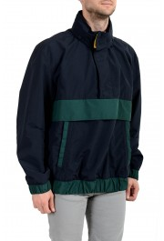 "Hugo Boss ""Okroos"" Men's 1/2 Zip Multi-Color Hooded Windbreaker Jacket: Picture 2"