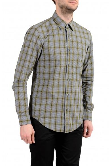 "Hugo Boss ""Rog_53"" Men's Slim Fit Plaid Long Sleeve Casual Shirt"