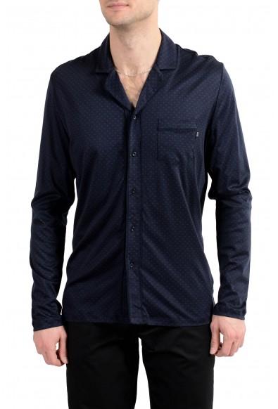 "Hugo Boss ""Jersey Pyjama"" Men's Long Sleeve Night Shirt"