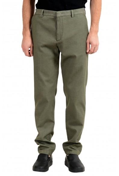 """Hugo Boss """"Riko-T"""" Men's Green Tapered Fit Casual Pants"""