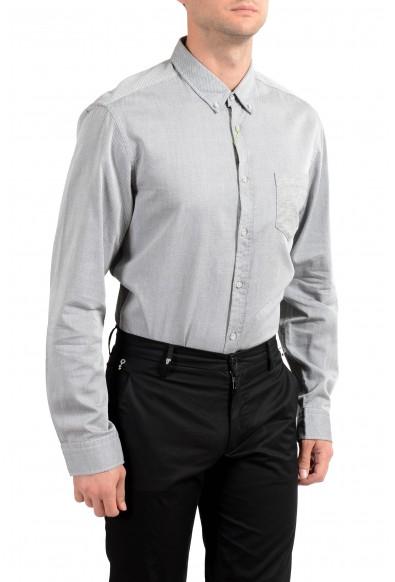 "Hugo Boss Men's ""Bergen"" Gray Slim Fit Long Sleeve Casual Shirt : Picture 2"