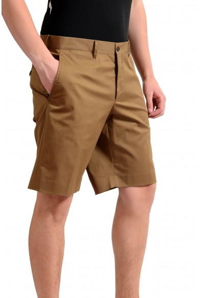 Prada Men's Brown Stretch Casual Shorts: Picture 2
