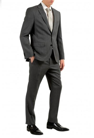 "Hugo Boss ""Johnston3/Lenon1"" Men's 100% Wool Gray Two Button Suit: Picture 2"