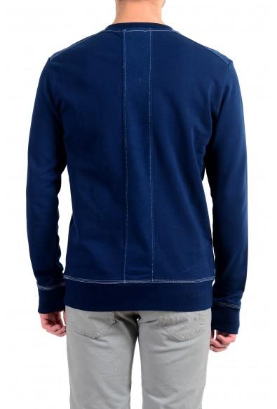 """Emporio Armani EA7 """"Train MMA"""" Men's Blue Graphic Crewneck Sweatshirt: Picture 2"""