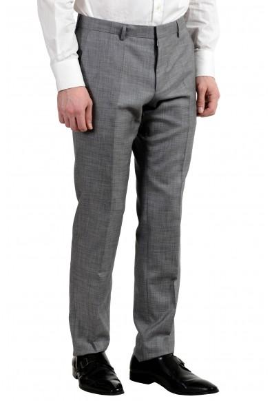 "Hugo Boss ""Huge6/Genius5"" Men's Silk Wool Gray Silk Two Button Suit: Picture 2"