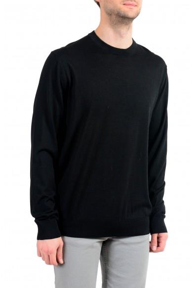 Versace Men's Wool Black Crewneck Pullover Sweater : Picture 2
