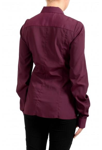 Maison Margiela Women's Purple Button Down Blouse Top: Picture 2