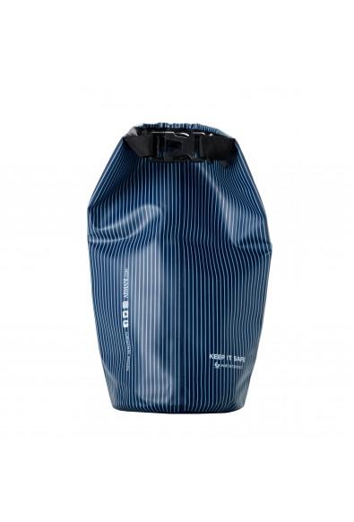 Emporio Armani Unisex Blue Striped Small Waterproof Beach Bag: Picture 2