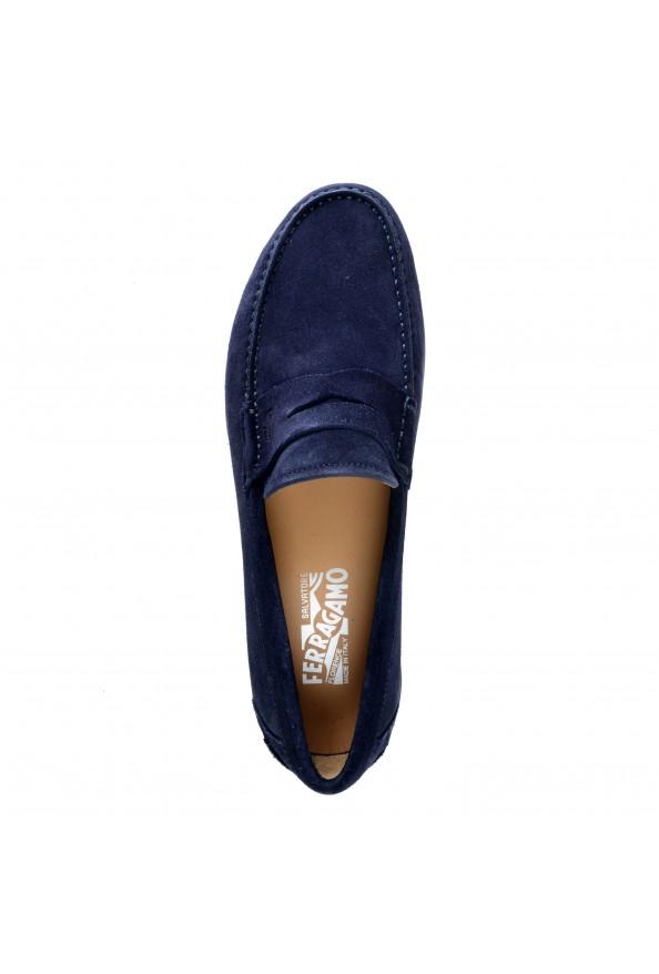 Salvatore Ferragamo Men's Ferro Suede Leather Loafers Moccasins Slip On Shoes: Picture 6