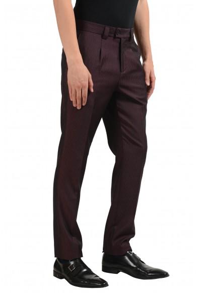 Versace Versus Men's Wool Striped Pleated Dress Pants : Picture 2