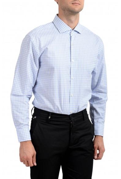 "Hugo Boss Men's ""Mark US"" Sharp Fit Plaid Long Sleeve Dress Shirt: Picture 2"