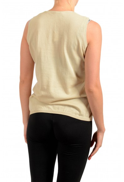 Malo Women's Beige Knitted Top : Picture 2