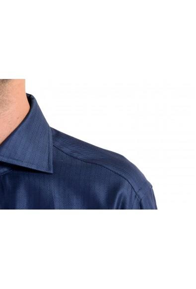 "Hugo Boss ""T-Stenson"" Men's Regular Fit Dark Blue Long Sleeve Dress Shirt: Picture 2"