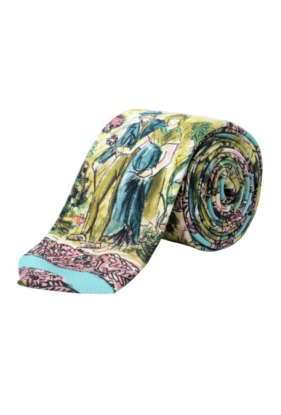 Burberry 100% Silk Multi-Color Patterned Men's Tie