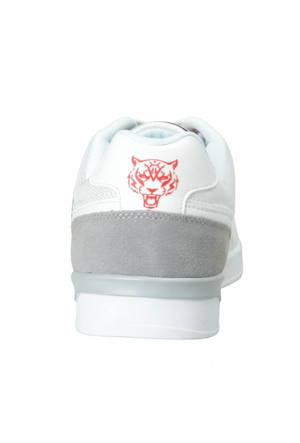 """Plein Sport """"Unseld"""" White Fashion Sneakers Shoes: Picture 4"""