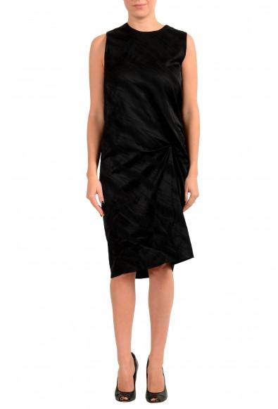 Just Cavalli Women's Black Sleeveless Crewneck Shift Dress