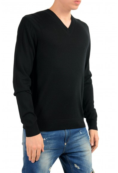 Versace Collection Men's Black Wool Cashmere Light Sweater : Picture 2
