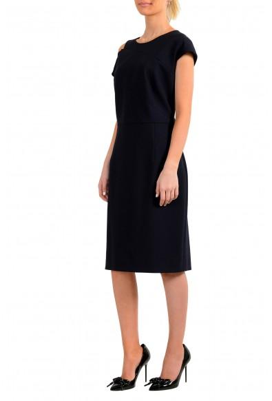 "Hugo Boss Women's ""Danouk"" Blue Sleeveless Pencil Dress: Picture 2"