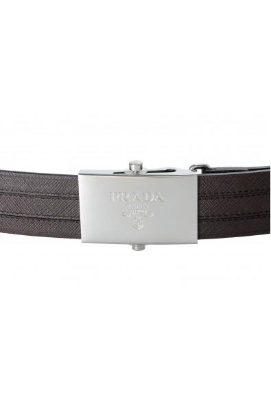 Prada Brown 100% Leather Men's Belt: Picture 2