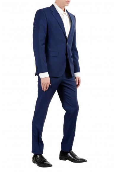 "Hugo Boss ""Jeffery/Simmons182"" Men's 100% Wool Blue Two Button Suit: Picture 2"