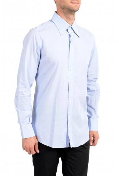Dolce&Gabbana Men's Light Blue Long Sleeve Dress Shirt