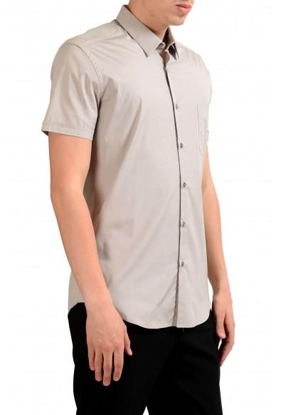 Fendi Men's Beige Short Sleeve Dress Shirt : Picture 2