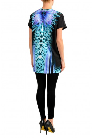 Just Cavalli Multi-Color Short Sleeve Women's Tunic T-Shirt: Picture 2