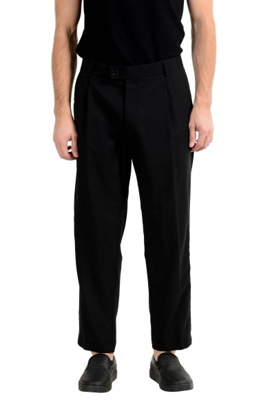 "Hugo Boss ""Fatal191F1"" Men's 100% Wool Black Dress Pants"