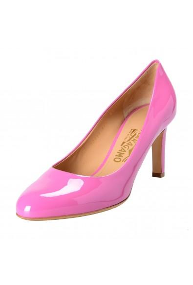 """Salvatore Ferragamo Women's """"LEO"""" Leather Pumps Shoes"""